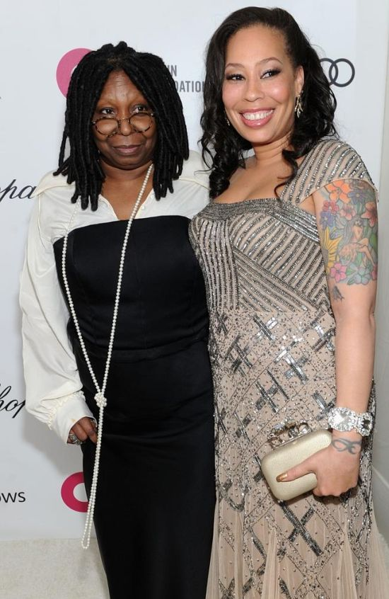 Whoopi Goldberg with her daughter - Alex Martin