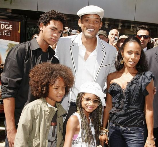 Will Smith with wife Jada Pinkett Smith