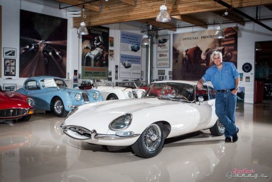 Jay Leno's garage and car collection